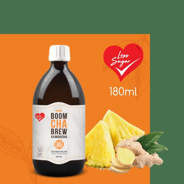 Kombucha Pineapple Less Sugar