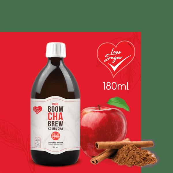 Kombucha Apple Cinnamon Less Sugar
