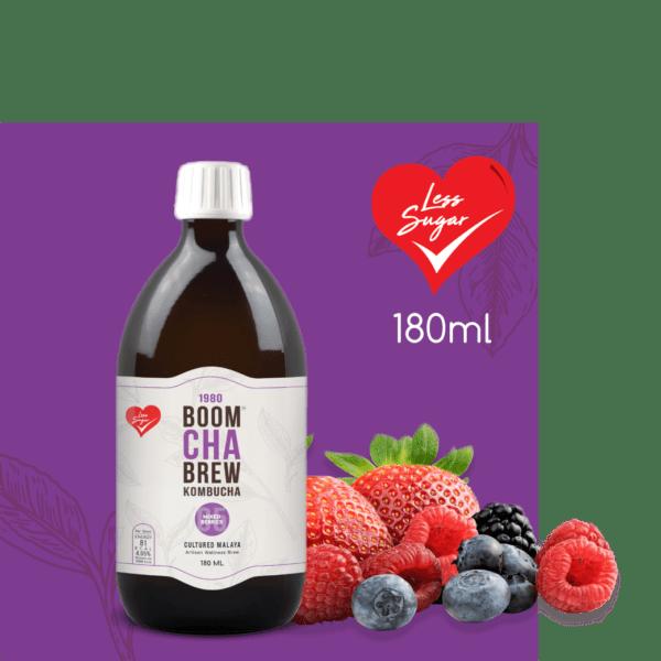 Kombucha Mixed Berry Less Sugar